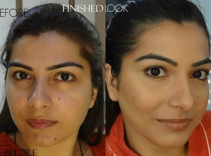 contour and highlight your face before after vanitynoapologies