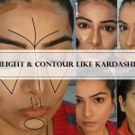 Tutorial: How to Contour and Highlight your Face like Kardashians