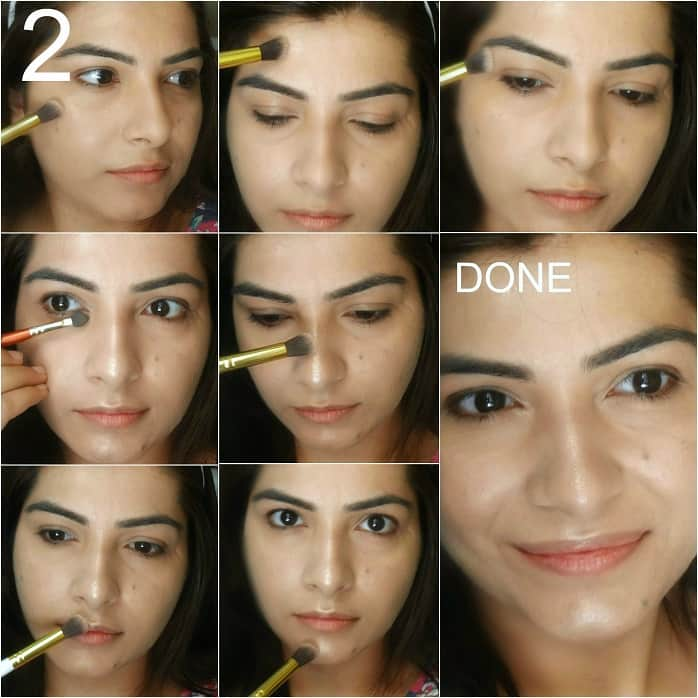 How to: DIY Strobing Highlighter Makeup Tutorial on Indian Skin