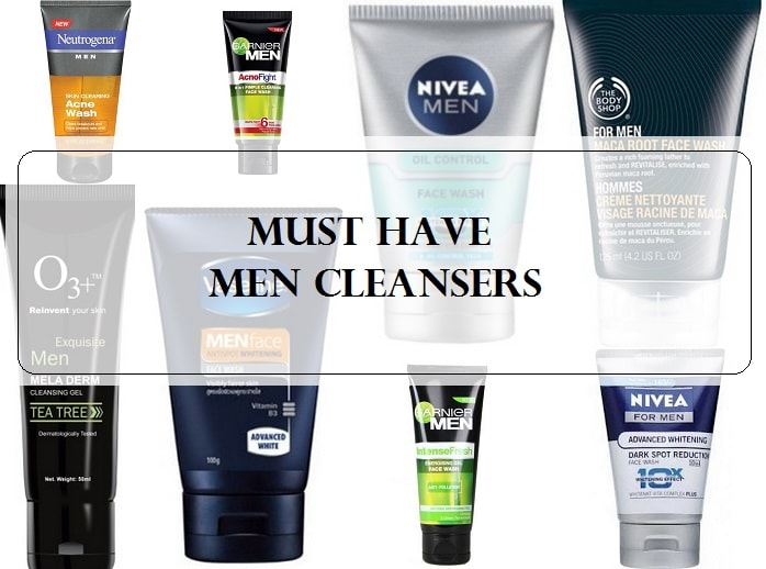 Top 10 Face Washes For Men In India