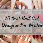 20 Best Bridal Nail Art Designs