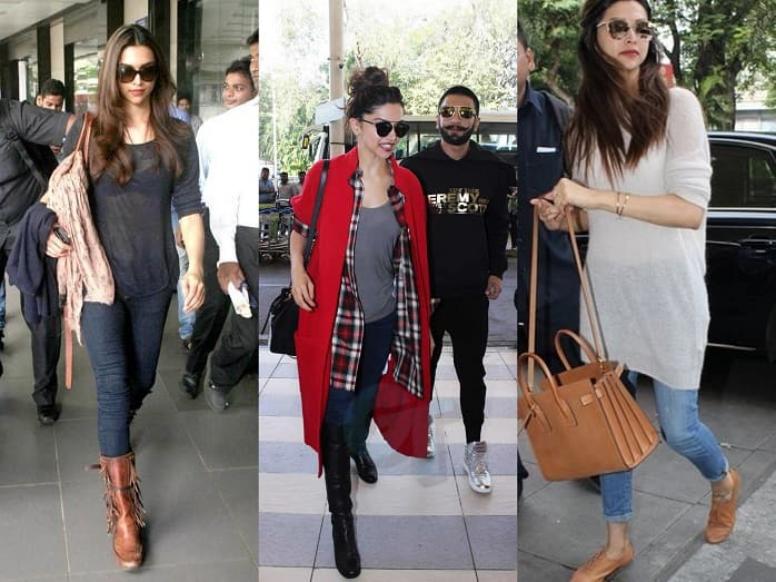 Top 8 Bollywood Celebrities Travel Style At Airport