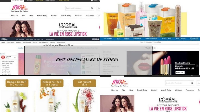 best website to buy beauty products - 5 Best Online Shopping Sites To Buy Beauty Products In India - 2019 ...