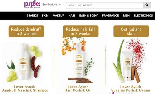 Beauty products online shopping india