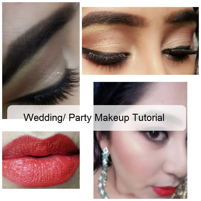 How-to-do-wedding-or-party-makeup-at-home-tutorial