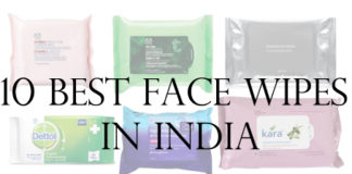 10 best Face Wipes in India reviews price list