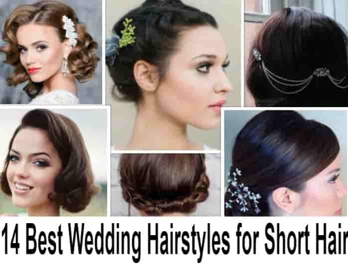 14 Best Wedding Hairstyles For Short Hair