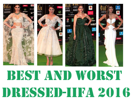 Best and Worst Dressed- IIFA 2016