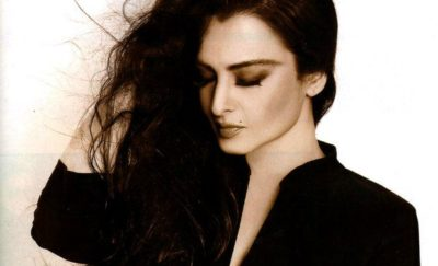 Bollywood-Celebrities-with-long-hair-Rekha(2)