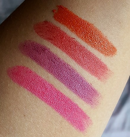 Lakme-Enrich-Matte-Lipsticks-Review-Swatches-shades-price-buy-online