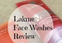 Lakme-blush-glow-Face-washes-Review-India