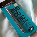 Lakme Eyeconic 22hr Kajal Black: Review, Swatches