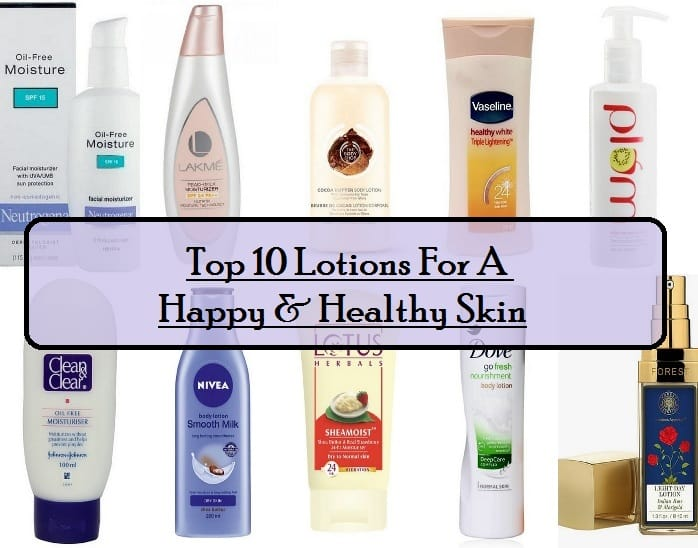 10 Best Body Lotions Available in India: Reviews, Prices