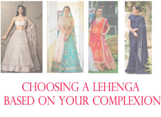 Choosing your lehenga based on your complexion