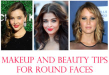 Makeup and Beauty Tips For Round Faces