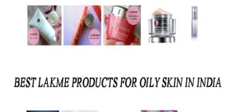 best lakme products for oily skin in india