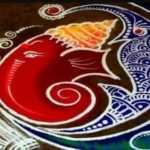 30 Best Corner Rangoli Designs: Simple Rangoli Images for Diwali