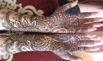 Mehndi Flower Designs For Hands : 50 best floral mehndi designs with pictures