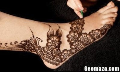 Leg Mehndi Designs Easy Only : Best floral mehndi designs with pictures