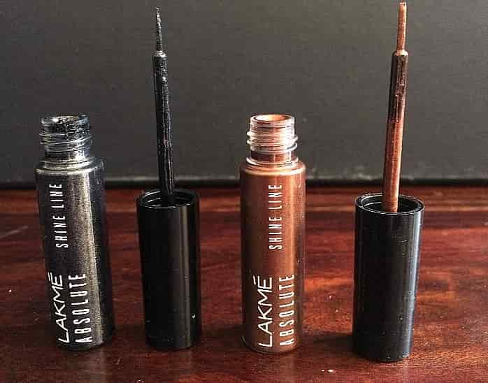 Lakme Absolute Illuminating Shine Line eyeliners review