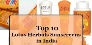 10-best-lotus-herbals-sunscreens -available-in-india-list-reviews-price