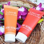 Lakme Blush & Glow Creme Face Washes Review: Peach, Strawberry