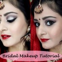 Tutorial: Indian/Pakistani Bridal Makeup Look (Dramatic Smokey Silver)