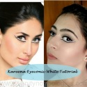 Tutorial: Kareena Kapoor TV Ad Makeup Look using Lakme Eyeconic White Kohl